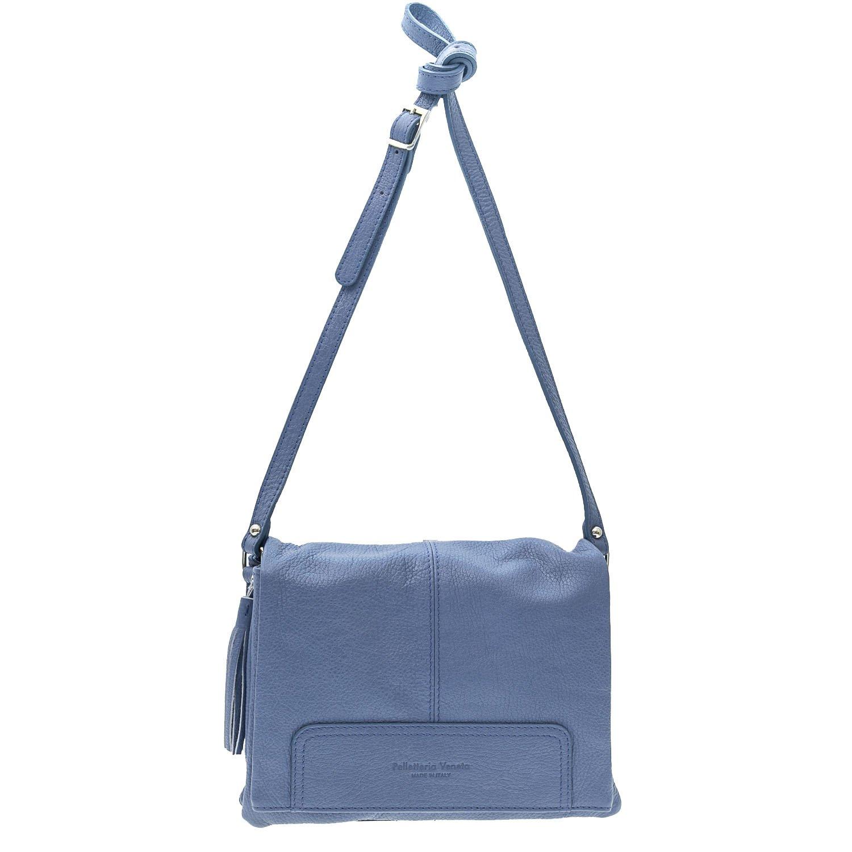 475c73e55cf6 Голубая сумка через плечо Pelletteria Veneta 1763, купить по цене 12 ...